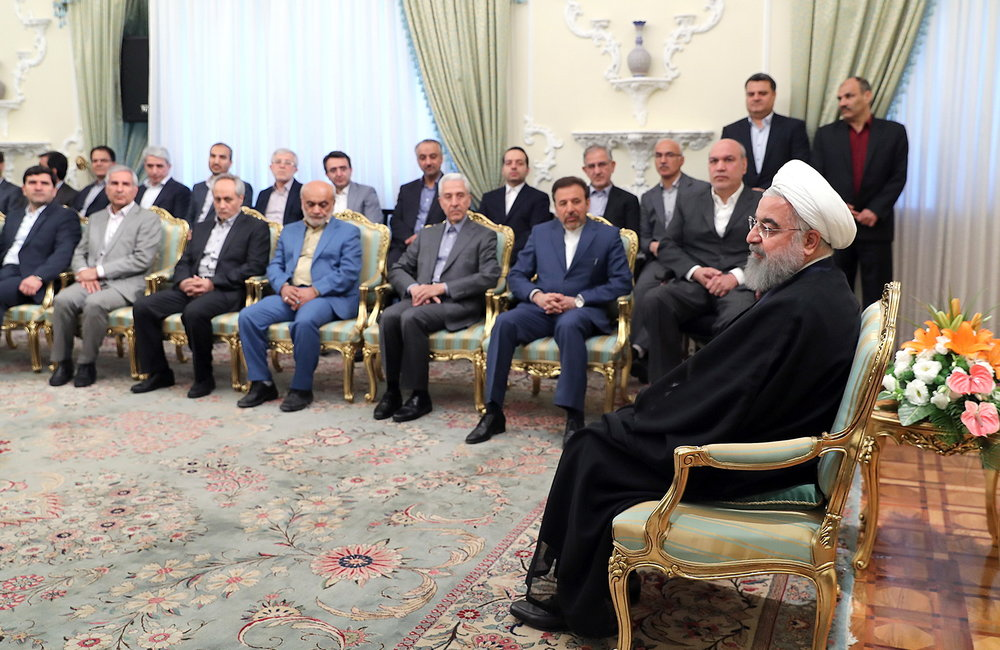 Rouhani blames Israel for deteriorating crisis in Syria