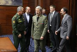 لقاءات وزير الدفاع الايراني على هامش مؤتمر موسكو للامن 2018 /صور