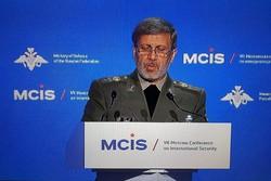 وزير الدفاع: ايران تعارض التدخل العسكري في البلدان الاخرى