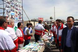 ۳۷ هزار نفر از خدمات نوروزی هلال احمر استان قزوین برخوردار شدند