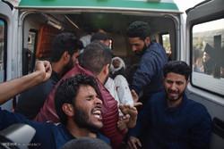 راهپیمایی مردم در اعتراض به قتل سه غیر نظامی توسط ارتش هند در کشمیر