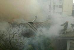 آتش سوزی در رشت - کراپشده