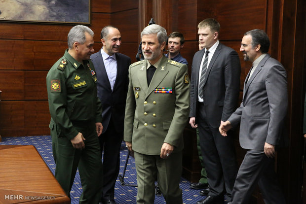 لقاءات وزير الدفاع الايراني على هامش مؤتمر مسكو للامن 2018