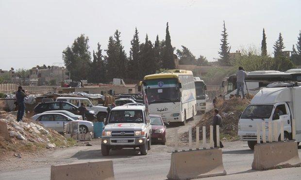 1198 Jaish al-Islam terrorists evacuated to Jarablos