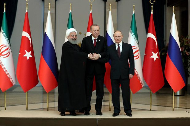 Iran, Russia, Turkey issue joint statement on Syria settlement