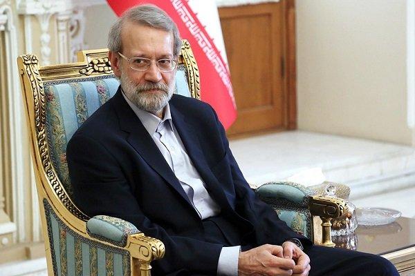 رئيس مجلس الشورى الاسلامي يؤكد على اهمية التضامن والوحدة بين المسلمين