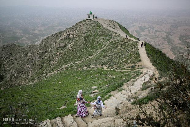 مقبرة النبي خالد في محافظة كلستان شمالي ايران