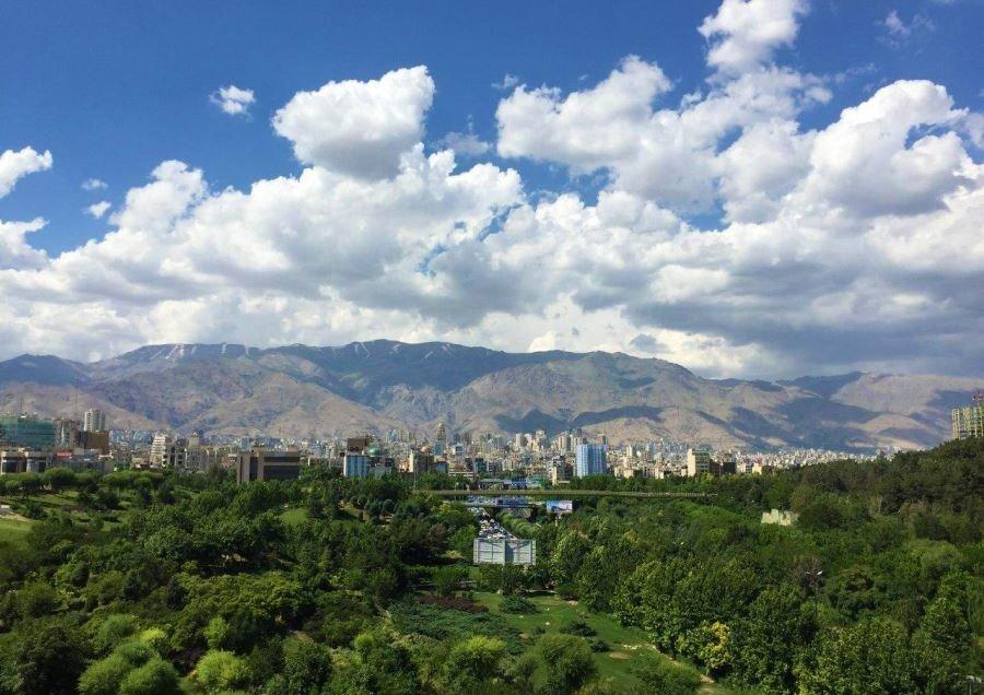 باران هوای اصفهان را پاک کرد
