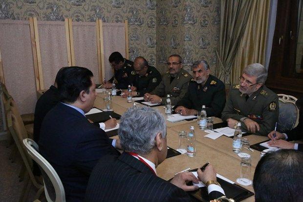 دیدار وزیر دفاع ایران و پاکستان