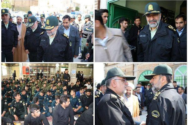 مراسم چهلمین روز شهادت شهدای خیابان «پاسداران» تهران برگزار شد