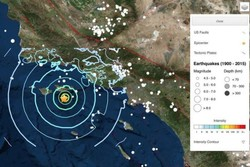 زلزله در کالیفرنیای آمریکا
