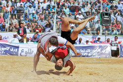 Bachukheh wrestling competition