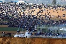 Siyonist güçleri Gazze'de Filistinlilere ateş etti! 1 ölü 15 yaralı