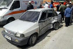 سانحه رانندگی با ۲ کشته و ۳ زخمی در زنجان