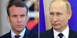 Putin, Macron discuss situation in Syria