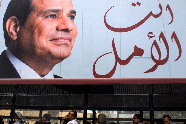 تصاویری از انتخابات مصر