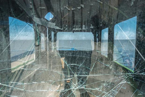 Urmiye Gölü'nün son halinden kareler