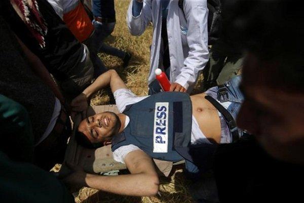 خبرنگار فلسطینی به شهادت رسید