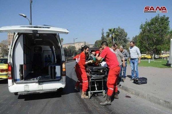 قتلى وجرحى جراء سقوط قذائف صاروخية على أحياء دمشق