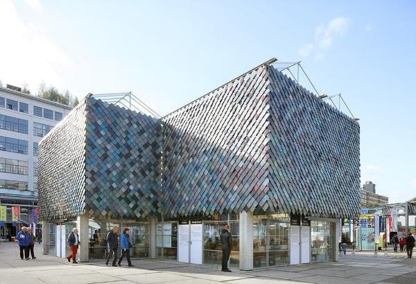 احداث ساختمانی از زباله در هلند