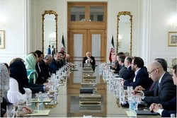 Zarif, Valdai Club professors discuss intl. issues in Tehran