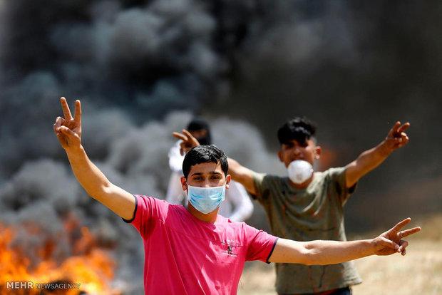 """Filistin halkından geniş çaplı """"dönüş"""" gösterisi"""