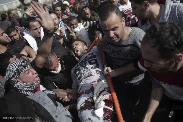 غزہ میں  اسرائیلی فوج کی فائرنگ سے مزید 2 فلسطینی شہید