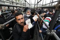المنفذ الحدودي بمدينة مهران يشهد حركة حاشدة لقاصدين مدينة كربلاء