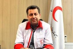 هلال احمر یزد در موکب عمود ۱۰۹۲ کربلا خدمات امدادی ارائه میدهد