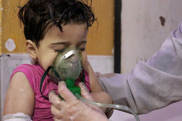 Russia says Britons to stage chemical attack in Syria to blame Assad