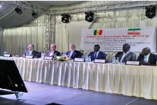 انعقاد المؤتمر الاقتصادي المشترك بين إيران والسنغال