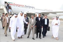 هیئت عالیرتبه وزارت حمل و نقل و بنادر قطر وارد بوشهر شد