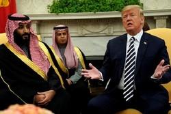 ترامپ: ولیعهد سعودی گفت اطلاعی از خاشقجی ندارد