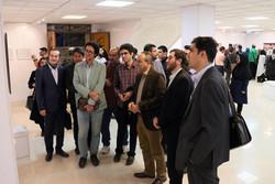 نمایشگاه عکس طنز در حوزه هنری قزوین افتتاح شد