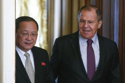 وزیران خارجه روسیه و کره شمالی