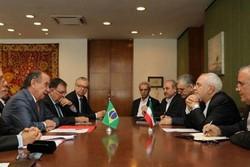 ایران اور برازیل کے وزراء خارجہ کی  باہمی ملاقات اور گفتگو