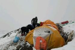 بارش برف در محل سقوط هواپیمای پرواز یاسوج شرایط جستجو را سخت کرد