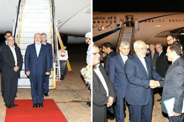 Zarif arrives in Brazil as 2nd leg of Africa, S America tour