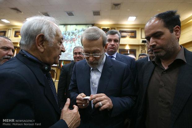 المؤتمر التجاري المشترك بين ايران وسوريا