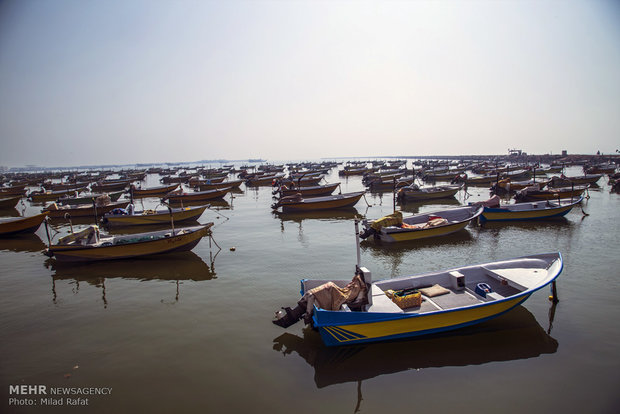 İran'ın güneyinde yer alan tarihi limandan kareler
