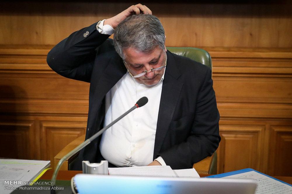 محسن هاشمی برای سال چهارم رئیس شورای شهر پایتخت شد