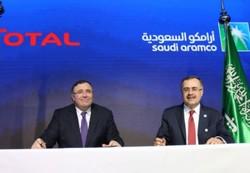 آرامکوی سعودی و توتال قرارداد ۵ میلیارد دلاری امضا کردند
