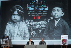 نشست خبری رضا میرکریمی دبیر سی و ششمین جشنواره بین المللی فیلم فجر