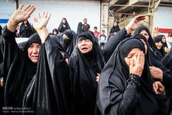 """تشييع جثمان الشهيد المدافع عن الحرم  """"سيد عمار موسوي"""" / صور"""