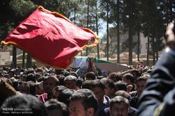 مراسم هفتمین روز شهادت شهید مدافع حرم در آران و بیدگل برگزار شد