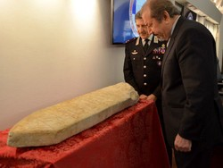 Italy returns centuries-old artifact to Iran