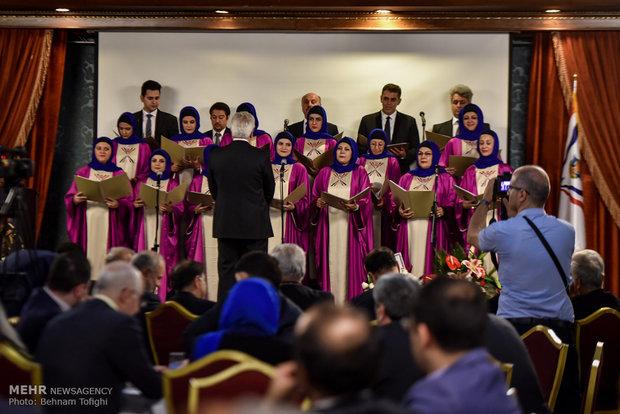 مراسم الذكرى الخمسينية لتأسيس الاتحاد الأشوري العالمي في العاصمة طهران