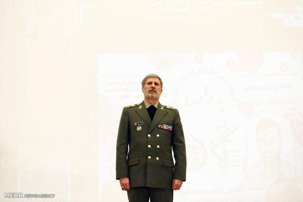 """مراسم تكريم الفريق الشهيد  """"صياد شيرازي"""" بحضور وزير الدفاع"""