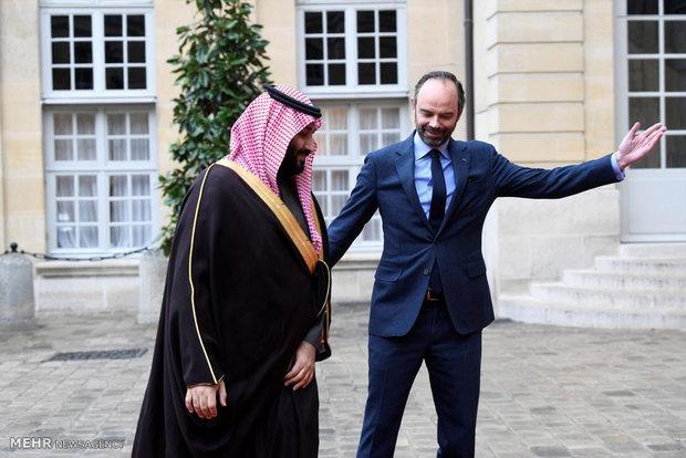 سفر بن سلمان به پاریس
