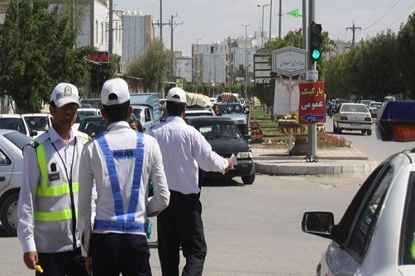 برخورد پلیس راهنمایی و رانندگی ایلام با مظاهر روزه خواری